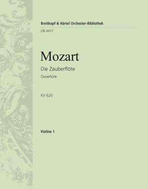 Wolfgang Amadeus Mozart - Die Zauberflöte - Ouverture KV 620 - Partition - di-arezzo.fr