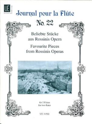 Gioacchino Rossini - Beliebte Stücke aus Rossinis Opern - 2 Flöten - Partition - di-arezzo.fr