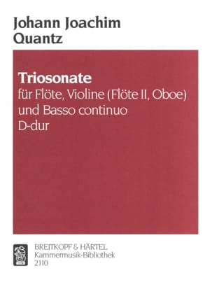 Triosonate D-dur -Flöte, Violine Flöte, Oboe u. Bc laflutedepan