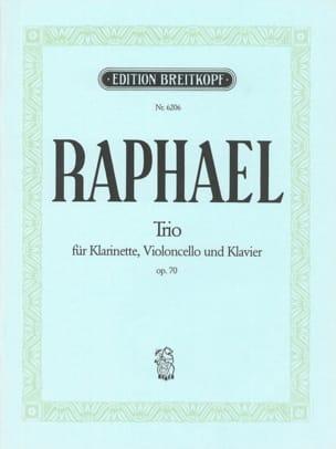 Günter Raphael - Trio op. 70 - Sheet Music - di-arezzo.co.uk