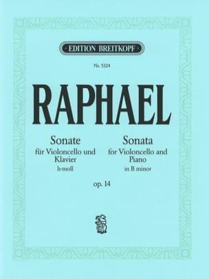 Günter Raphael - Sonate h-moll op. 14 - Partition - di-arezzo.fr