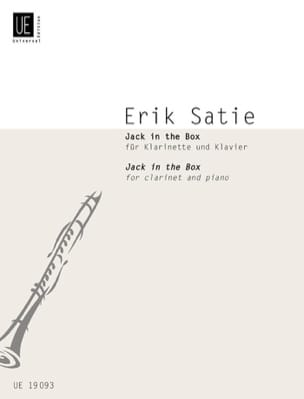 Jack in the Box - Erik Satie - Partition - laflutedepan.com