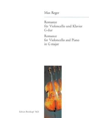 Max Reger - Romanze G-Dur - Cello - Sheet Music - di-arezzo.co.uk