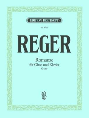 Max Reger - Romanze G-dur –Oboe Klavier - Partition - di-arezzo.fr