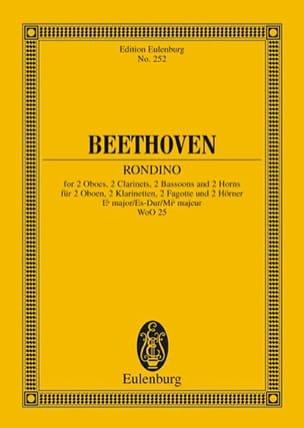 Ludwig van Beethoven - Rondino Es-Dur op. posth. Es-Dur - Partition - di-arezzo.fr