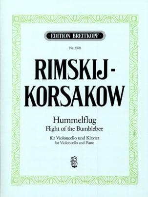 Hummelflug RIMSKY-KORSAKOV Partition Violoncelle - laflutedepan