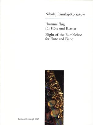 Nicolaï Rimsky-Korsakov - Hummelflug - Flöte Klavier - Sheet Music - di-arezzo.com
