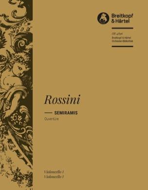 Gioachino A Rossini - Semiramide. Ouvertüre - Partition - di-arezzo.fr