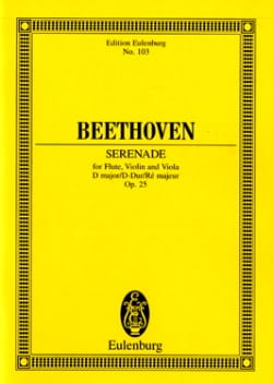 BEETHOVEN - Serenade D-Dur, Op. 25 - Sheet Music - di-arezzo.co.uk