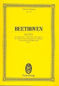 BEETHOVEN - Sextett Es-Dur, Op. 71 - Sheet Music - di-arezzo.co.uk