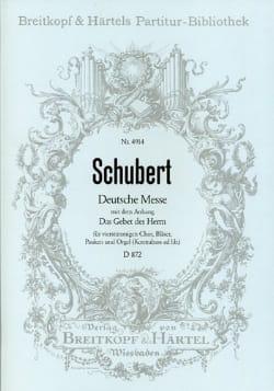 Franz Schubert - Deutsche Messe F-Dur D. 872 – Partitur - Partition - di-arezzo.fr