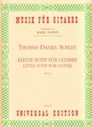 Thomas Daniel Schlee - Kleine Suite für Gitarre op. 5a - Partition - di-arezzo.fr