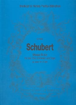 SCHUBERT - Messe B-Dur D 324 - op. post. 141 - Partitur - Partition - di-arezzo.fr