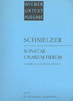 Johann Heinrich Schmelzer - Sonatae Unarum Fidium Volume 2 - Sheet Music - di-arezzo.co.uk
