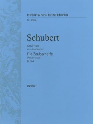 SCHUBERT - Die Zauberharfe, Ouverture D 644 - Partitur - Sheet Music - di-arezzo.com