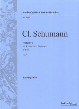 Clara Schumann - Klavierkonzert A-Moll - Conducteur - Partition - di-arezzo.fr