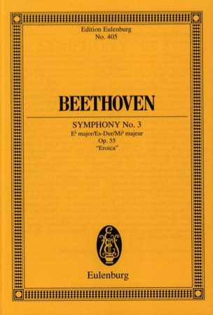 BEETHOVEN - Symphony Nr. 3 Es-Dur - Conductor - Sheet Music - di-arezzo.co.uk