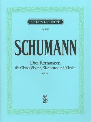 3 Romanzen op. 94 -Oboe Violine, Klarinet Klavier laflutedepan