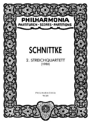 Alfred Schnittke - Streichquartett Nr. 2 - Partitur - Partition - di-arezzo.fr