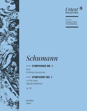 Robert Schumann - Symphonie Nr. 1 B-Dur op. 38 – Partitur - Partition - di-arezzo.fr