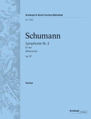 Robert Schumann - Symphonie Nr. 3 Es-Dur Op. 97 – Partitur - Partition - di-arezzo.fr