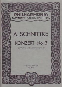 Konzert Nr. 3 für Violine- Partitur - laflutedepan.com