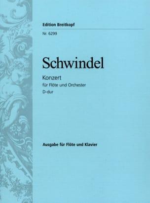 Friedrich Schwindel - Flötenkonzert D-Dur - Flöte Klavier - Sheet Music - di-arezzo.com