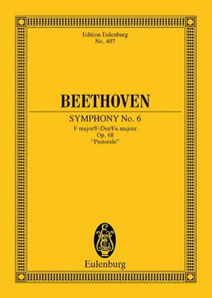 BEETHOVEN - Symphony Nr. 6 F-Dur - Sheet Music - di-arezzo.co.uk