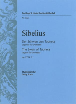 Jean Sibelius - Der Schwan Von Tuonela Op.22 N°2 - Partition - di-arezzo.fr