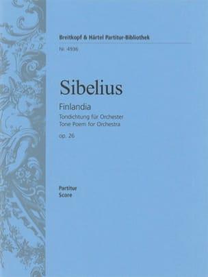 Jean Sibelius - Finlandia, Op. 26 - Partition - di-arezzo.fr
