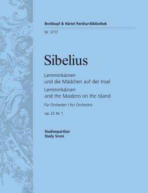 Jean Sibelius - Lemminkäinen, Opus 22 N°1 - Conducteur - Partition - di-arezzo.fr