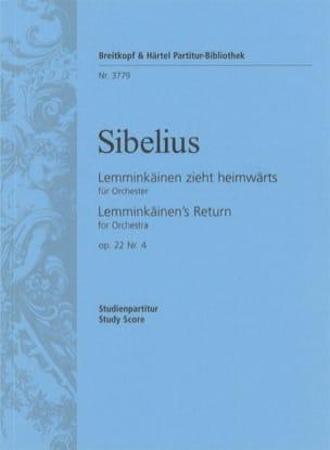 Jean Sibelius - Lemminkäinen Zieht Heimwärts Op. 22 N° 4 - Partition - di-arezzo.fr