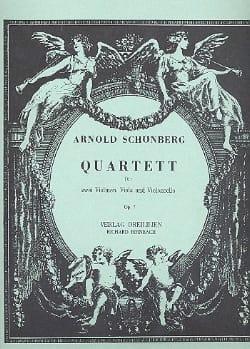 Arnold Schoenberg - Streichquartett Nr. 1 op. 7 –Stimmen - Partition - di-arezzo.fr