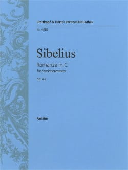 Jean Sibelius - Romanze C-Dur op. 42 - Partitur - Sheet Music - di-arezzo.co.uk