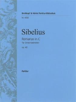 Jean Sibelius - Romanze C-Dur op. 42 – Partitur - Partition - di-arezzo.fr