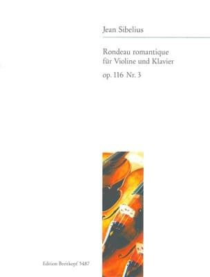 Rondeau romantique op. 116 n° 3 SIBELIUS Partition laflutedepan