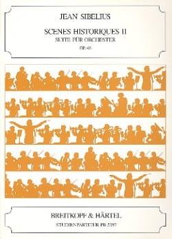 Jean Sibelius - Scènes Historiques 2 Op. 66 - Conducteur - Partition - di-arezzo.fr