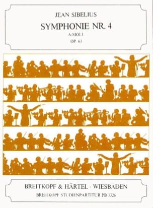 Symphonie N° 4 a-moll op. 63 - Partitur Jean Sibelius laflutedepan