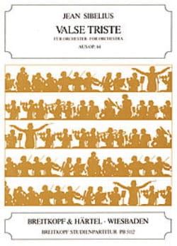 Valse Triste, op. 44 Partitur Petit Jean Sibelius laflutedepan