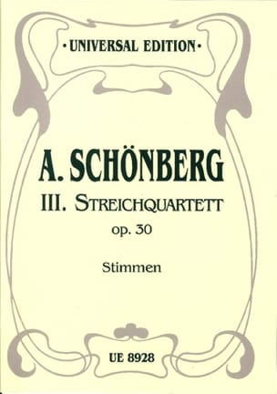Streichquartett Nr. 3 op. 30 -Stimmen - laflutedepan.com