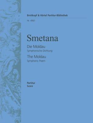 Die Moldau - Partitur Bedrich Smetana Partition laflutedepan