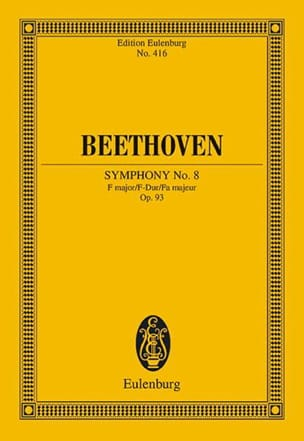 BEETHOVEN - Symphony Nr. 8 F-Dur - Sheet Music - di-arezzo.co.uk