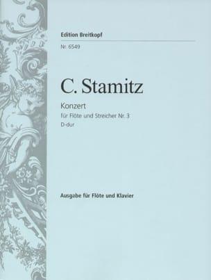 Carl Stamitz - Flötenkonzert N ° 3 D-Dur - Sheet Music - di-arezzo.com