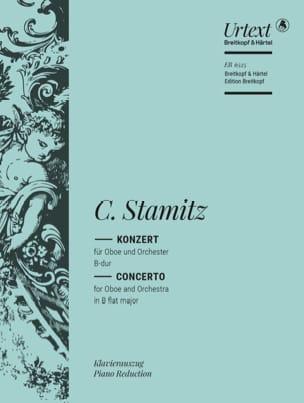 Carl Stamitz - Oboenkonzert B-dur –Oboe Klavier - Partition - di-arezzo.fr