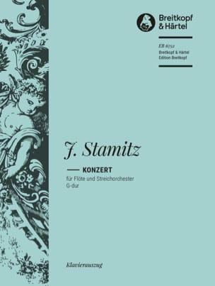 Johann Stamitz - Gメジャーのフルート協奏曲 - 楽譜 - di-arezzo.jp
