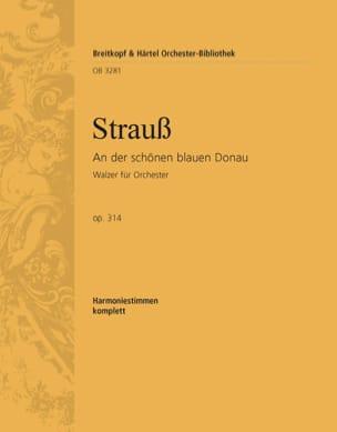 Johann Strauss - An der schönen blauen Donau - Partition - di-arezzo.fr