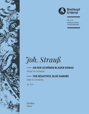 Johann (Fils) Strauss - An der schönen blauen Donau – Partitur - Partition - di-arezzo.fr