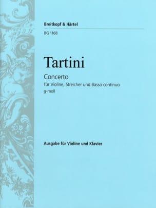 Giuseppe Tartini - Violinkonzert G-Moll - Partition - di-arezzo.fr