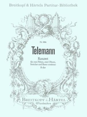 Georg Philipp Telemann - Konzert B-Dur – Partitur - Partition - di-arezzo.fr