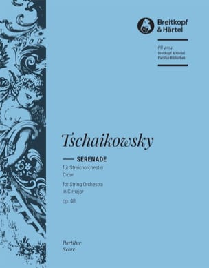 TCHAIKOVSKY - Serenade C-Dur op. 48 - Partitur - Sheet Music - di-arezzo.co.uk